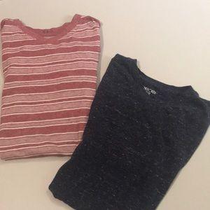 2 v neck Cherokee t shirts size XL (16)